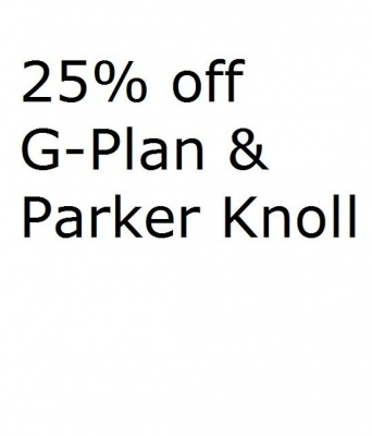 25% Off Sale on G-Plan & Parker Knoll