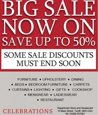 Big Sale Now On!