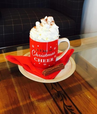 NEW LUXURY HOT CHOCOLATE