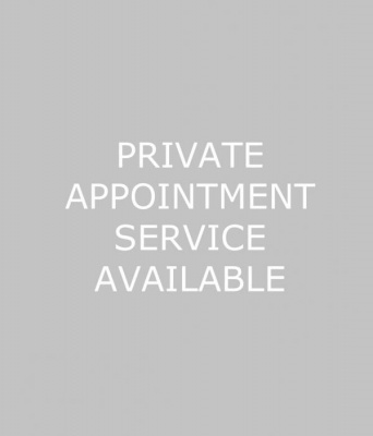 Private appointment service available