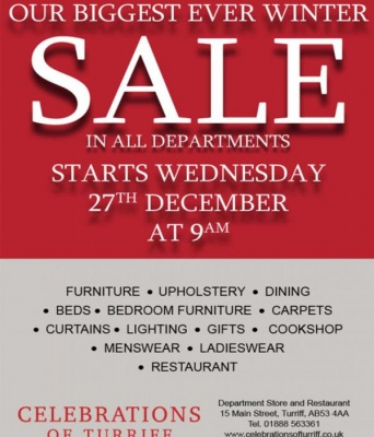 Our Biggest ever Winter Sale in store
